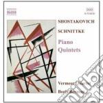 Sciostakovic Dmitri - Quintetto Per Pianoforte E Archi cd musicale di Dmitri Sciostakovic