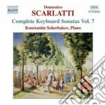 Sonate per tastiera, vol.7 cd musicale di Domenico Scarlatti