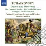 Danze e overtures cd musicale di Ciaikovski pyotr il'