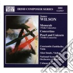 Menorah (concerto per viola), pearl and cd musicale di James Wilson