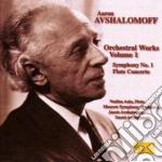 Opere per orchestra (integrale) vol.1 cd musicale di Aaron Avshalomoff