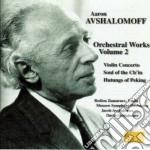 Opere per orchestra (integrale) vol.2 cd musicale di Aaron Avshalomoff