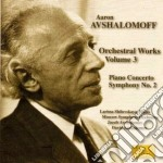 Opere per orchestra (integrale) vol.3 cd musicale di Aaron Avshalomoff