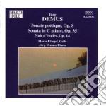 Demus - Opere Per Violoncello E Pianoforte cd musicale di JÖrg Demus