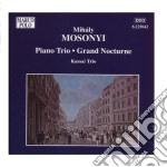 Trio op.1, grand nocturne (pianoforte, v cd musicale di MihÁly Mosonyi