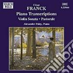 Trascrizioni per pianoforte cd musicale di CÉsar Franck