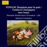 Requiem pour la paix, fanfares liturgiqu cd musicale di Henri Tomasi