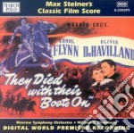 They died with their boots on (colona so cd musicale di Max Steiner