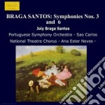 Sinfonia n.3, n.6 cd musicale di Braga santos joly