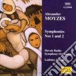 Sinfonia n.1 op.31, n.2 op.16 cd musicale di Alexander Moyzes
