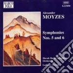 Sinfonia n.5 op.39, n.6 op.44 cd musicale di Alexander Moyzes