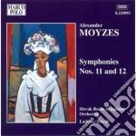 Moyzes Alexander - Sinfonia N.11 Op.79, N.12 Op.83 cd musicale di Alexander Moyzes