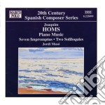 Opere per pianoforte (integrale) vol.1 cd musicale di Joaquim Homs