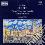 Foote Arthur - Trio N.1, N.2 Op.5, Melodia Per Violinoe Pianoforte Op.44, Ballata Op.69 cd musicale di Arthur Foote