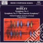 Seorise Bodley - Sinfonia N.4, N.5 The Limerick Symphony cd musicale di SeÓrise Bodley