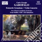 Garofalo, C.G. - Romantic Symphony/Violin cd musicale di Garofalo carlo giorg