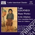 Opere per pianoforte (integrale) vol.2 cd musicale di Luis Gianneo