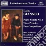 Opere per pianoforte (integrale) vol.3 cd musicale di Luis Gianneo