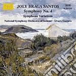 Braga Santos Joly - Sinfonia N.4, Variazioni Sinfoniche cd musicale di Braga santos joly