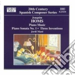 Opere per pianoforte (integrale) vol.2 cd musicale di Joaquim Homs