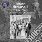 Edition, vol.8 cd musicale di Strauss johann i