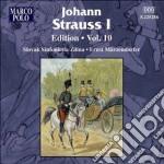 Edition, vol.10 cd musicale di Strauss johann i
