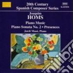 Homs Joaquim - Musica Per Pianoforte cd musicale di Joaquim Homs