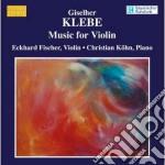 Musica per violino cd musicale di Giselher Klebe