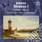 Edition, vol.20 cd musicale di Strauss johann i