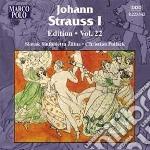 Edition vol.22 cd musicale di Strauss johann i