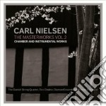The masterworks, vol.2 - chamber and ins cd musicale di Carl Nielsen