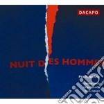Nuit des hommes cd musicale