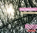 Opere per arpa e ensemble cd musicale di Per Norgard