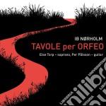 Tavole per orfeo cd musicale di Ib Norholm