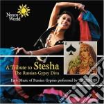 Tributo a stesha, la diva del russian-gy cd musicale di Russia Folk