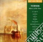 Musica al tempo di turner - art and musi cd musicale