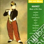 Musica al tempo di manet - art and music cd musicale