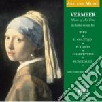 Musica al tempo di vermeer - art and mus cd musicale