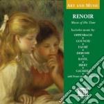 Musica al tempo di renoir - art and musi cd musicale