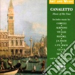 Musica al tempo di canaletto - art and m cd musicale