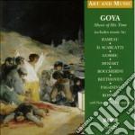 Musica al tempo di goya - art and music cd musicale