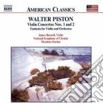 Concerto x vl n.1, n.2 cd musicale di Walter Piston