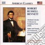 Abraham lincoln: a likeness in symphony cd musicale di Bennett richard rodn