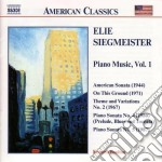 Siegmeister cd musicale