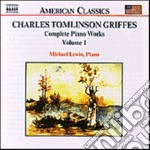 Piano works vol.1 cd musicale di Griffes charles thom