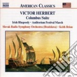 Columbus suite, irish rhapsody cd musicale di Victor Herbert