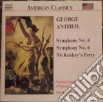 Sinfonia n4 n6 08 cd musicale di George Antheil