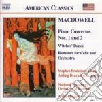 Concerto x pf n.1 op.15, n.2 op.22, hexe cd musicale di Edward Macdowell