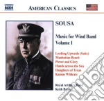 Music for wind band vol.1 cd musicale di SOUSA JOHN PHILIP