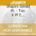 Piano t. cd musicale di SCHIFRIN/SCHULLER/SHAPIRO
